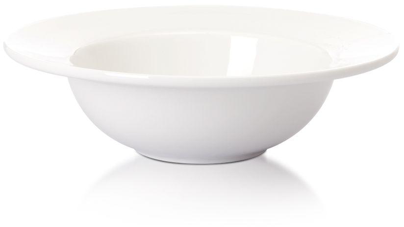Talerz do pasty porcelanowy Modermo Prima śr. 27 cm