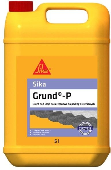Grunt pod kleje poliuretanowe Sika Grund P 5 l