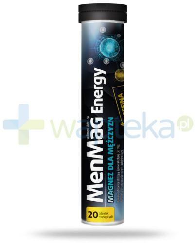 MenMag Energy magnez dla mężczyzn 20 tabletek musujących