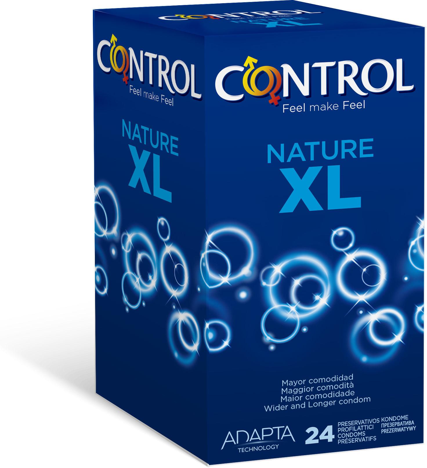 Control Nature XL 24 prezerwatywy XL