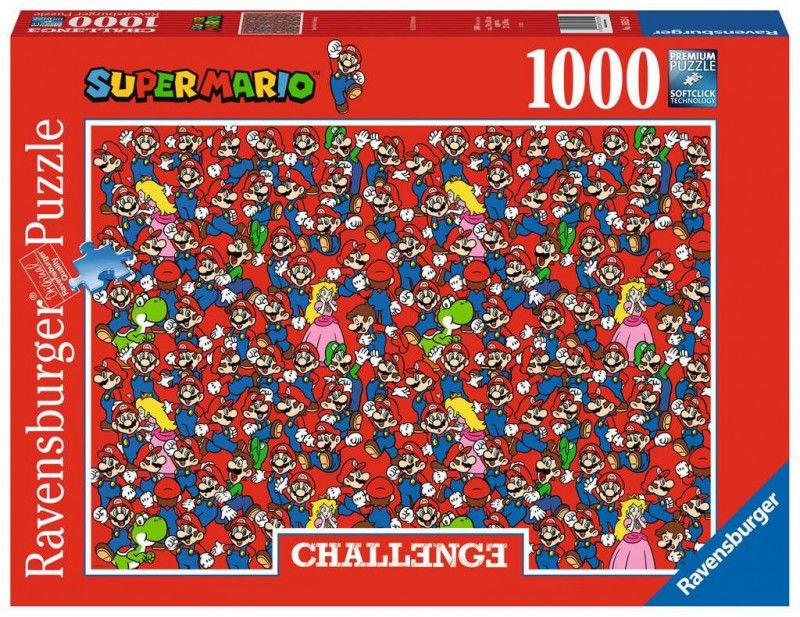 Puzzle 1000 elementów Challange, Super Mario Bros (GXP-761212)