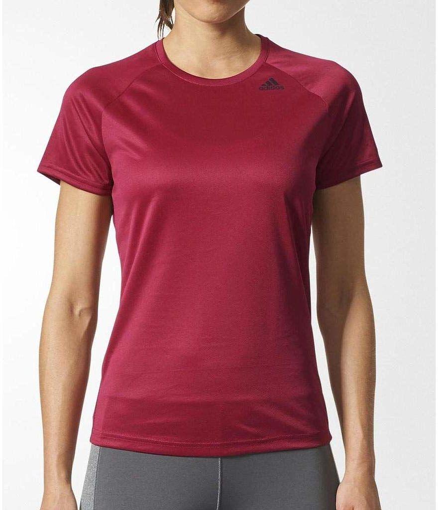 Adidas D2M T-Shirt damski, Mysrub, XS