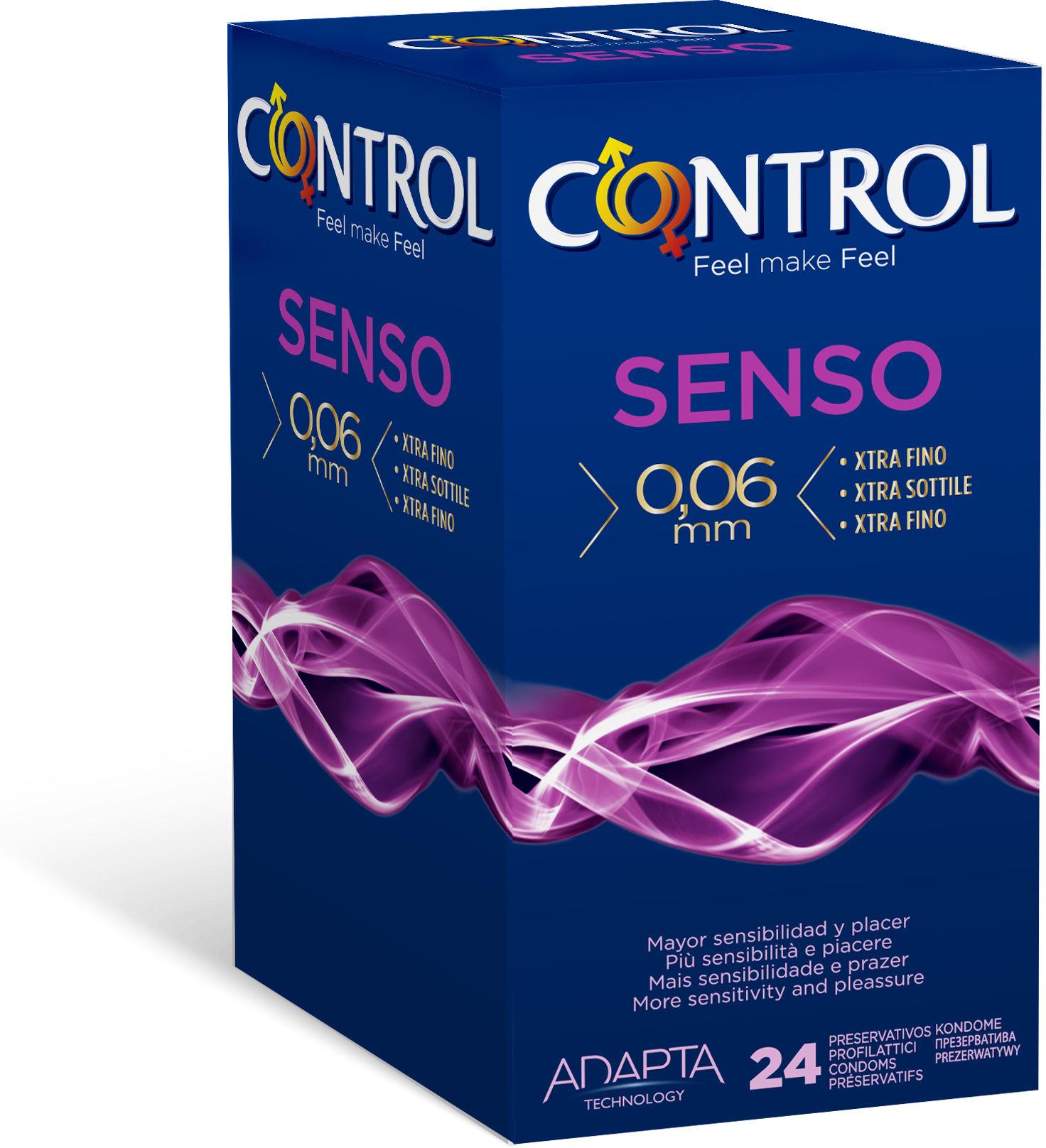Control Senso Cienkie prezerwatywy w opakowaniu 24 szt.
