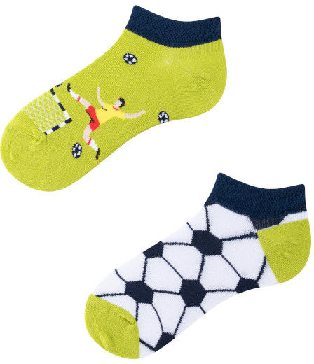 Stopki, Football Time Kids Low, Todo Socks, Piłka nożna, Kolorowe Dziecięce