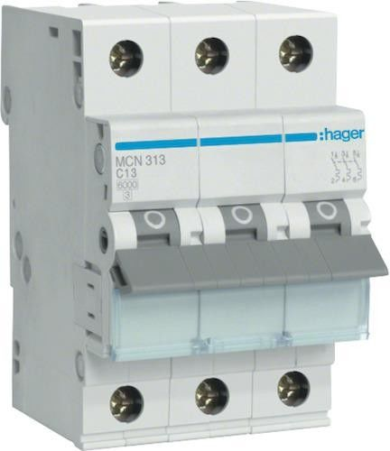 Wyłącznik nadprądowy 3P C 4A 6kA AC MCN304E