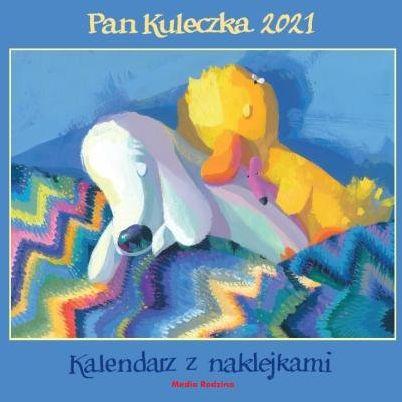 Kalendarz Pan Kuleczka 2021 ZAKŁADKA DO KSIĄŻEK GRATIS DO KAŻDEGO ZAMÓWIENIA