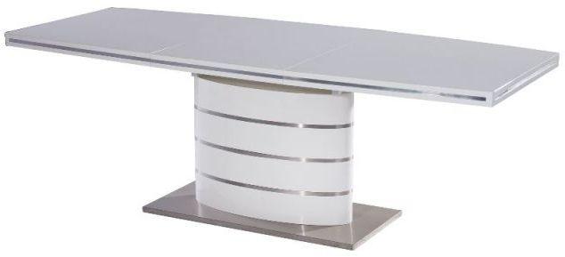 Stół FANO 120(180)x80 biały lakier rozkładany