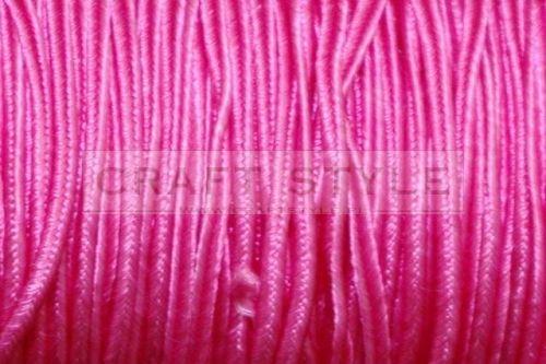 009 Sznurek sutasz szer 2,5 mm wiskoza różowy