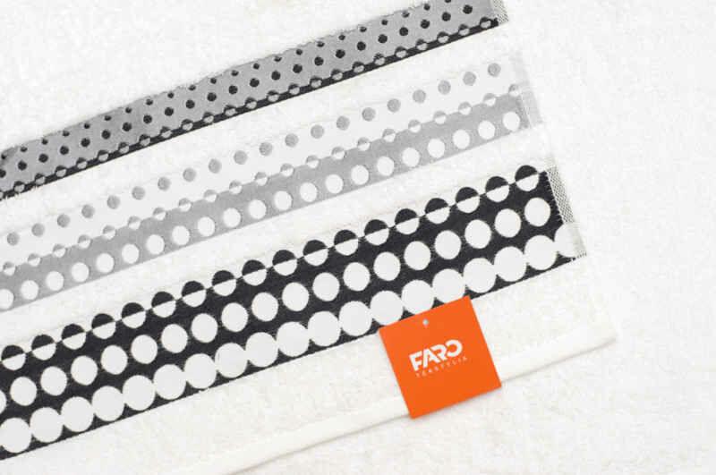 Ręcznik Silver 50x90 biały Faro