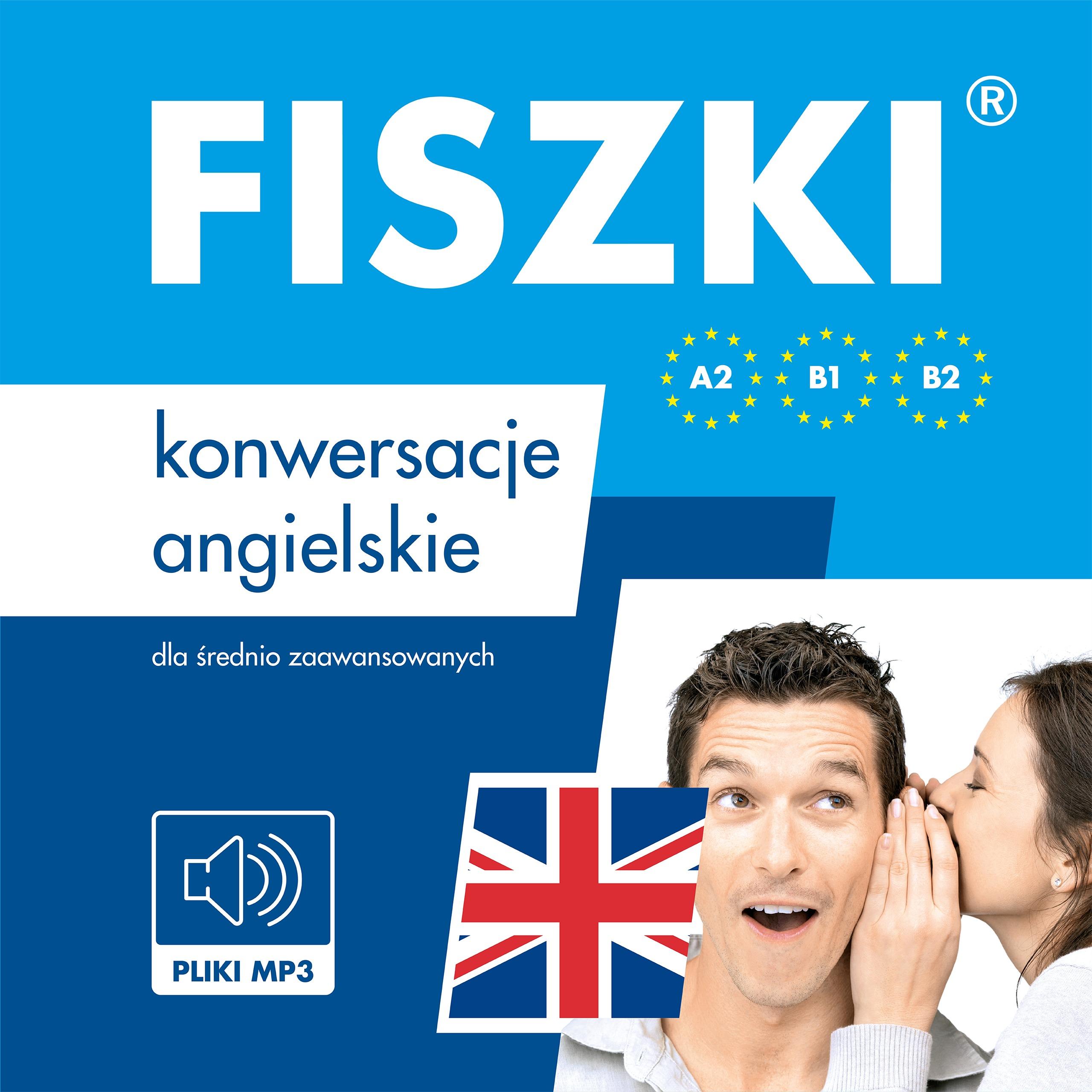 AUDIOBOOK - angielski - Konwersacje (A2-B2)