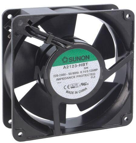 Wentylator AC osiowy 230VAC 120x120x38mm 165( 10%)m3/h 45dBA