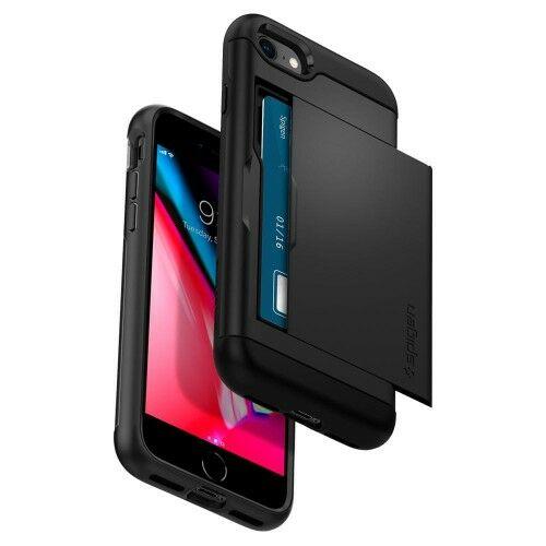 Etui Spigen Slim Armor CS iPhone 8, 7, czarne