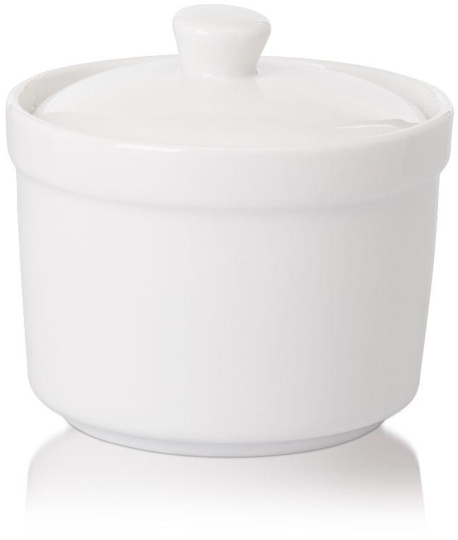 Cukiernica z pokrywą porcelanowa Modermo Prima
