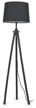 Lampa podłogowa York 121437 Ideal Lux uniwersalna oprawa w kolorze czarnym