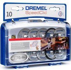 Zestaw tarcz do cięcia Dremel SpeedClic 11 szt.
