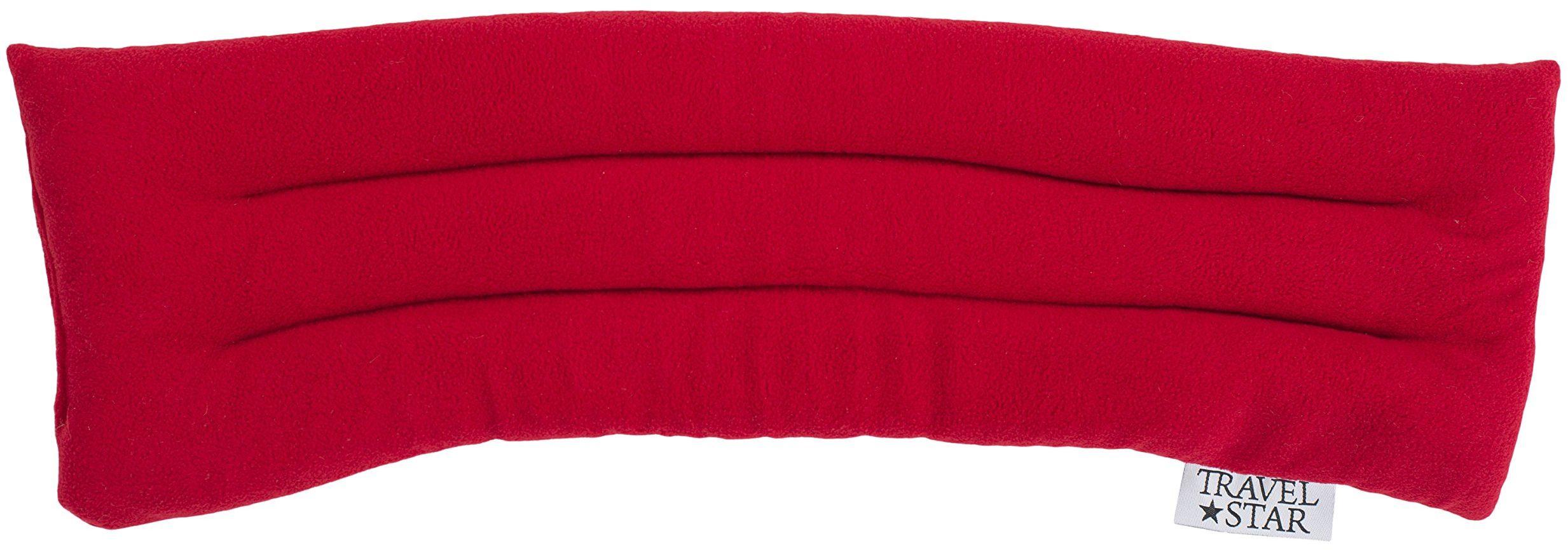 travelstar: Podgrzewana poduszka na kark z gryką i lawendą, różne kolory (TS-L-1002)
