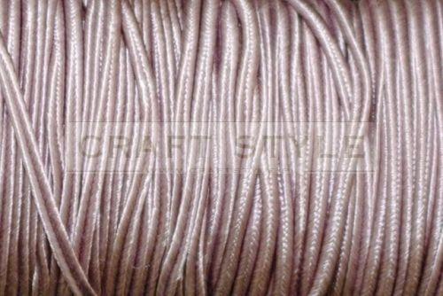 017 Sznurek sutasz szer 2,5 mm wiskoza BRUDNY różowy -2