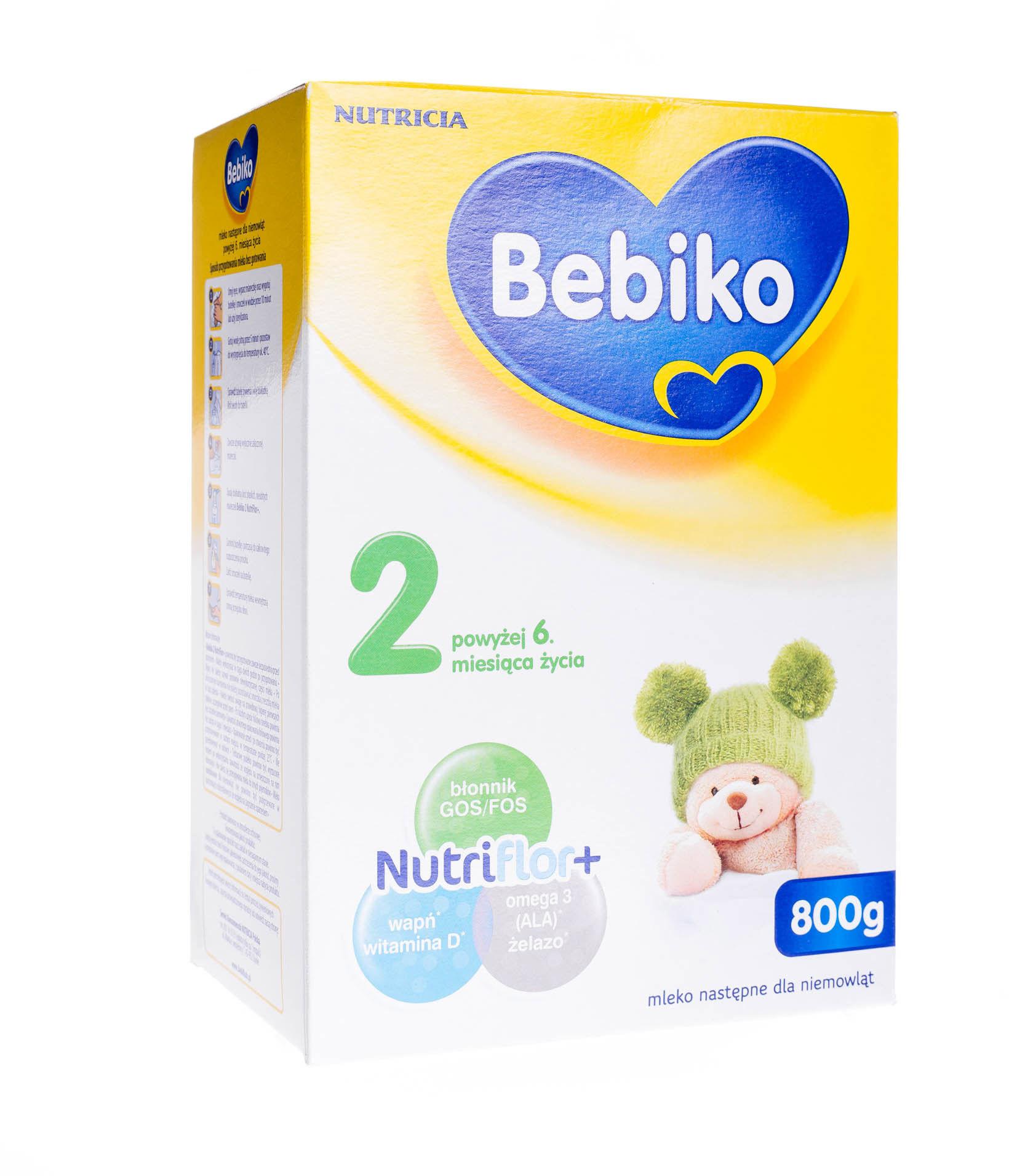 Bebiko 2 mleko następne powyżej 6 miesiąca życia proszek 800 g