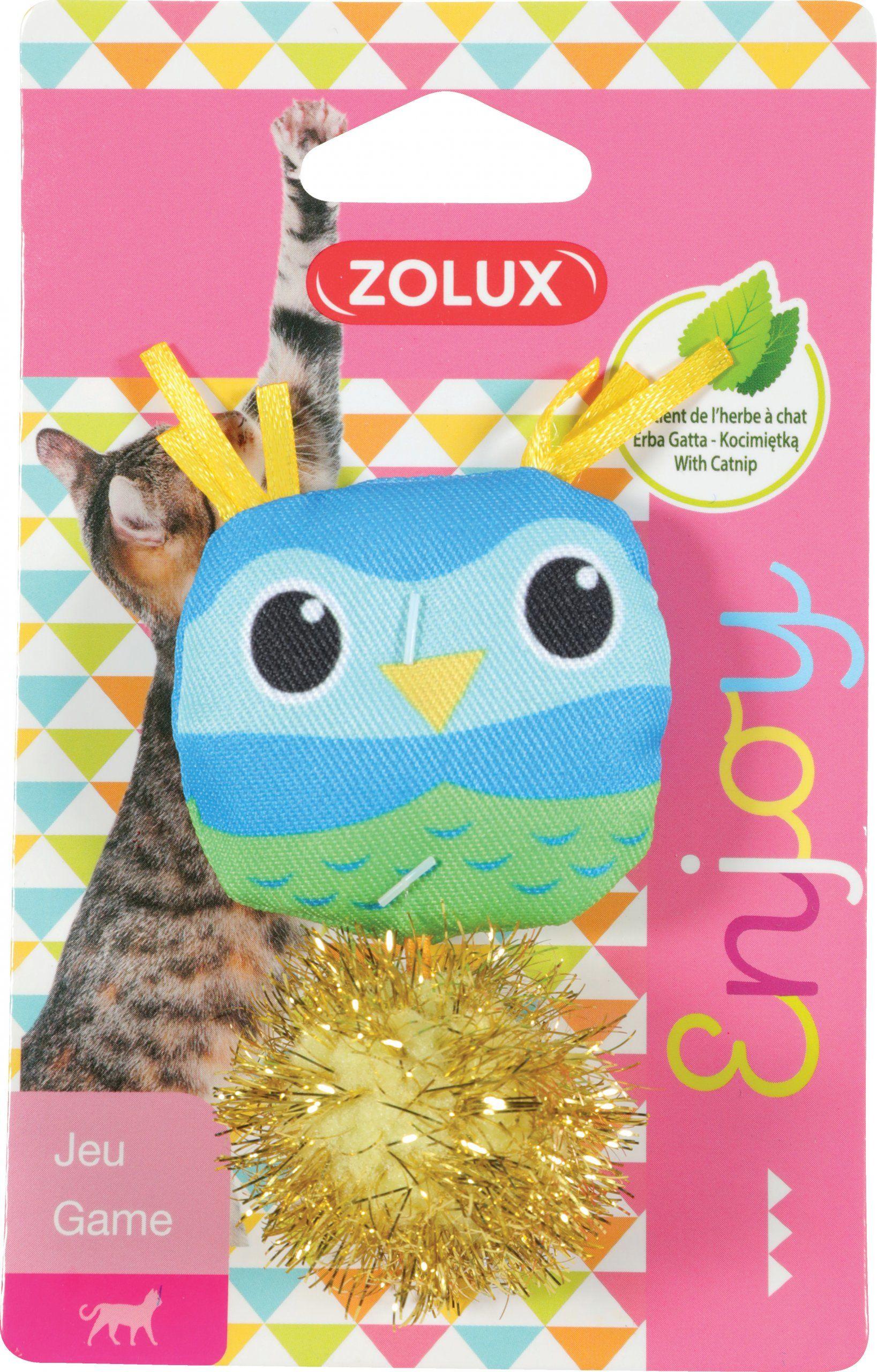 Zolux Zabawka dla kota Lovely sowa