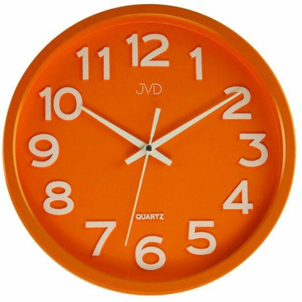 Zegar ścienny JVD HX2413.6 Cichy mechanizm