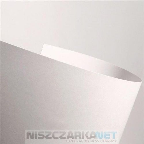 Karton Wizytówkowy 250g/m2 - GŁADKI kolor KREMOWY - 20 arkuszy A4