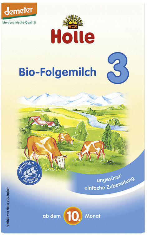 Holle Mleko w proszku następne 3 od 10 miesiąca BIO - 600 g