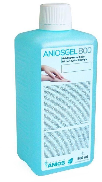 Ecolab AniosGel 800 500ml żel do higienicznej i chirurgicznej dezynfekcji rąk