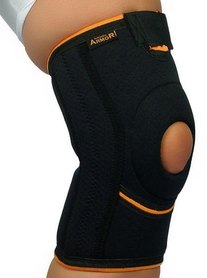 Orteza - stabilizator kolana z fiszbinami bocznymi i stabilizacją rzepki (ARMOR ARK2102)