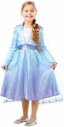 Królowa lodu 2 Classic Elsa Travel kostium kolorowy, 9-10 lat