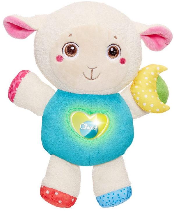 Chicco First Love - Owieczka Lily z nocną lampką i magicznym serduszkiem 07939