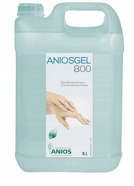 Ecolab AniosGel 800 5L żel do higienicznej i chirurgicznej dezynfekcji rąk