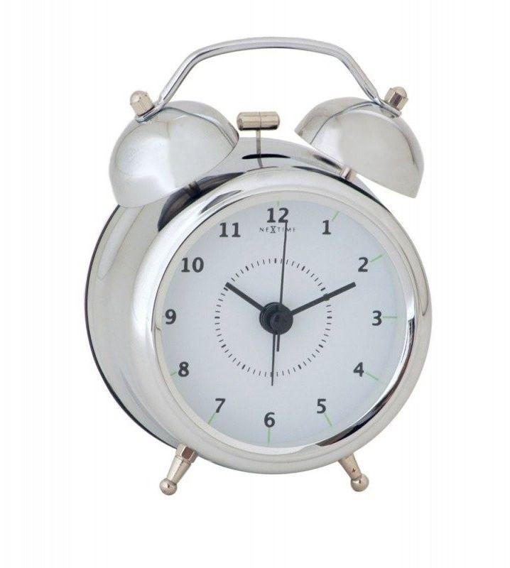 Budzik wake up silver, 9 cm - 9,00 cm