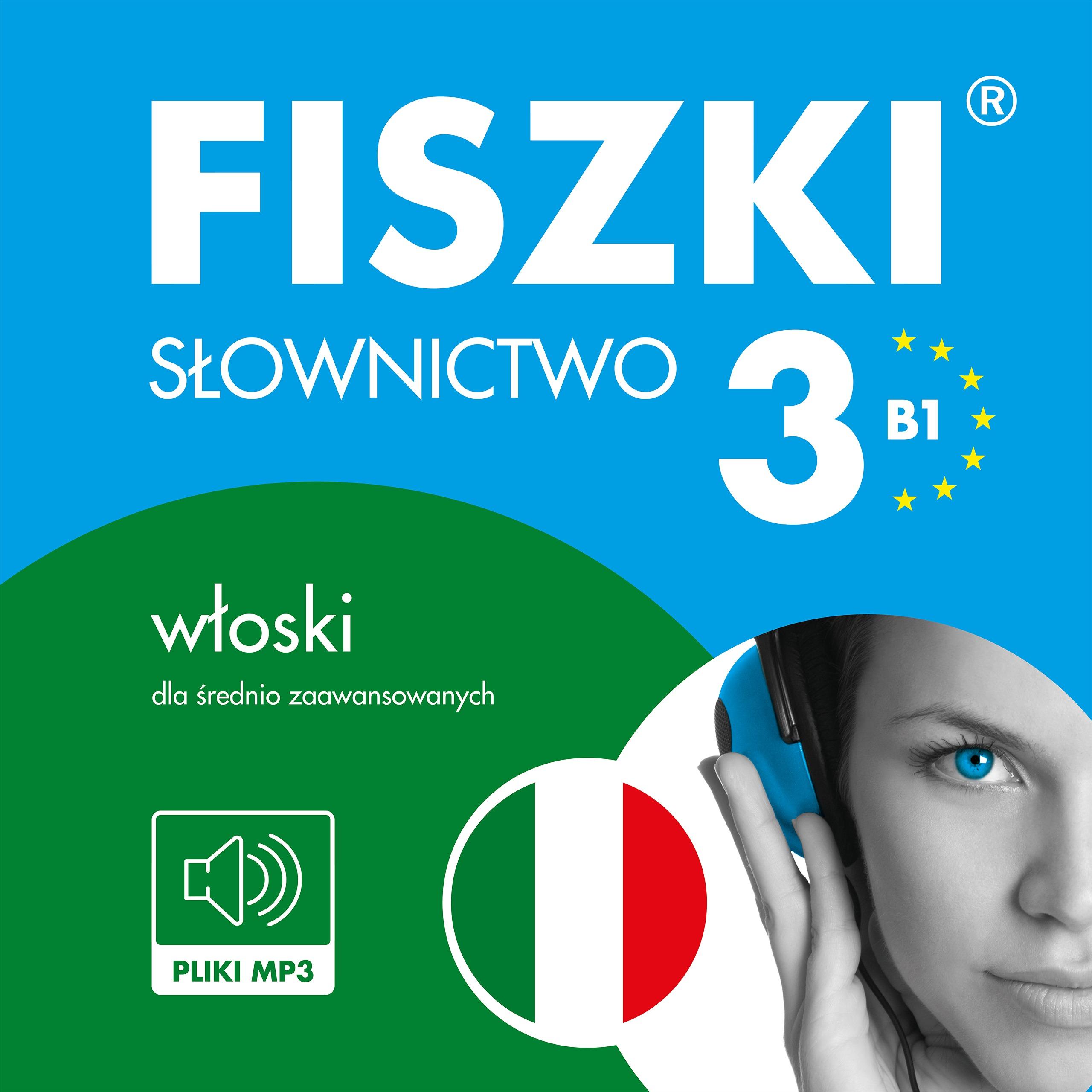 AUDIOBOOK - włoski - Słownictwo 3 (B1)