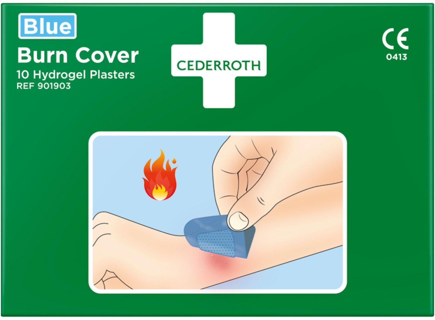 Opatrunek hydrożelowy na oparzenia Cederroth Burn Cover