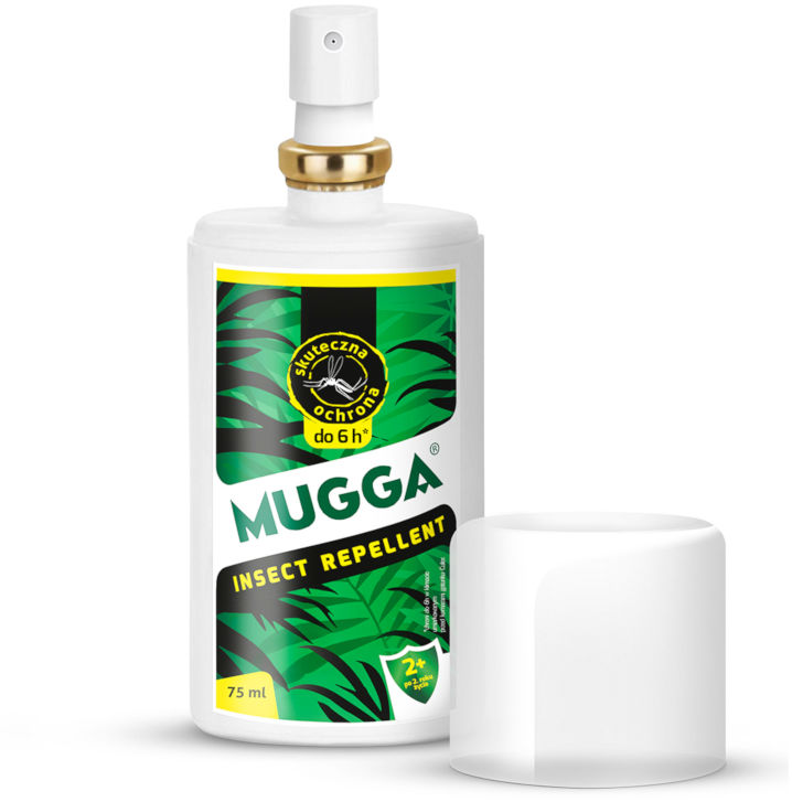 Repelent na komary Mugga Spray 9,5% DEET.