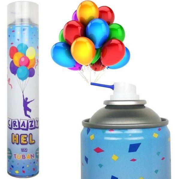 Hel do napełniania balonów crazy hel