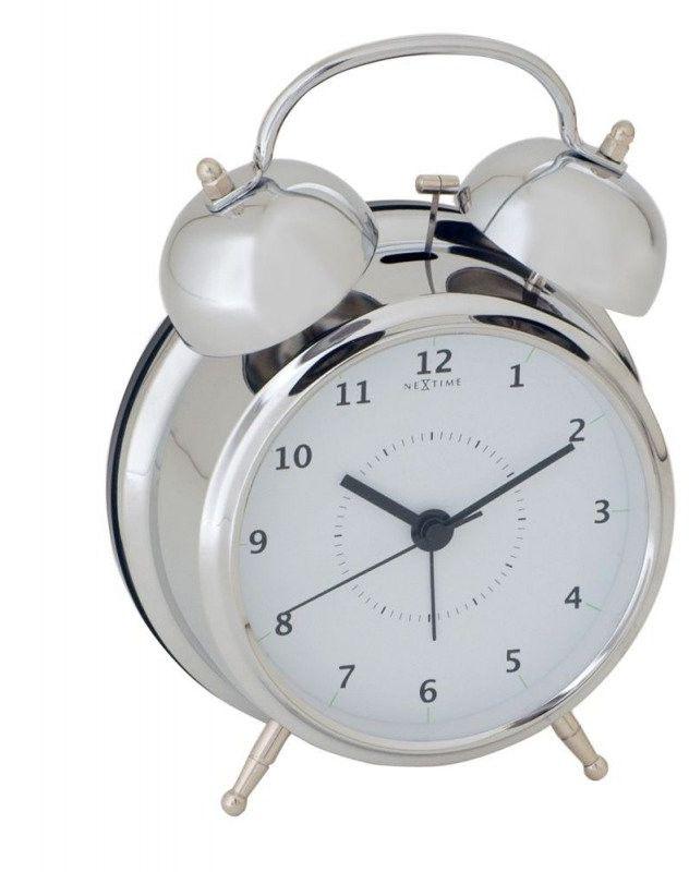 Budzik wake up silver, 12,5 cm - 12,50 cm