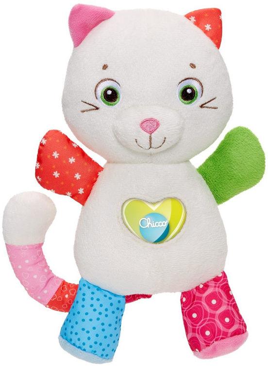 Chicco First Love - Maskotka kotek z magicznym serduszkiem 07940