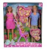 Lalka Steffi Love Zestaw szczęśliwa rodzina (105733200)