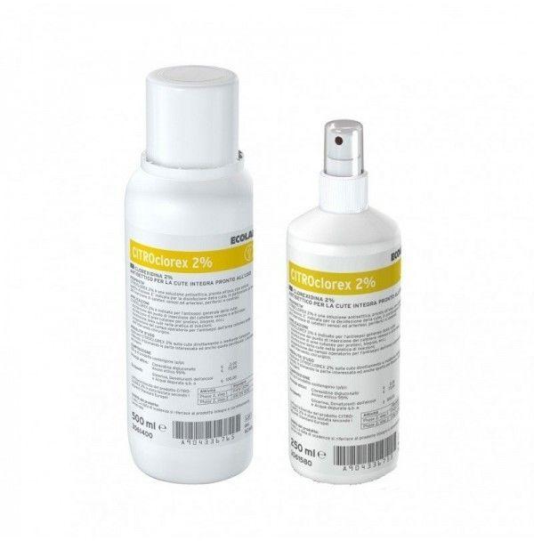 Ecolab CitroClorex 2% 500 ml płyn stosowany do dezynfekcji rąk 1 sztuka