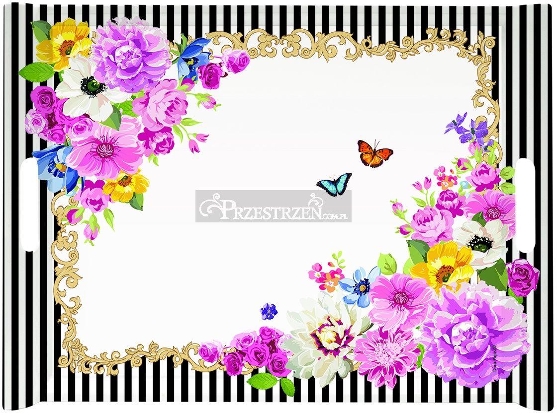 TACA DESEROWA - FLOWER GLAMOUR (200 GLUR)