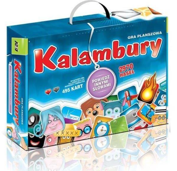 Kalambury Gra planszowa ZAKŁADKA DO KSIĄŻEK GRATIS DO KAŻDEGO ZAMÓWIENIA