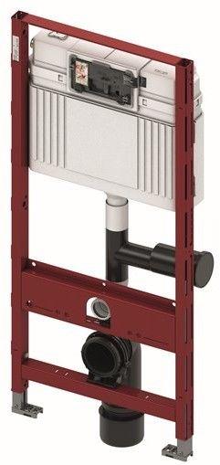 TECEprofil - Stelaż podtynkowy uniwersalny do WC, spłuczka podtynkowa, wyjście do odciągu zapachów
