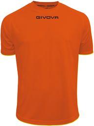 Givova - MAC01 koszulka sportowa, pomarańczowa, XL