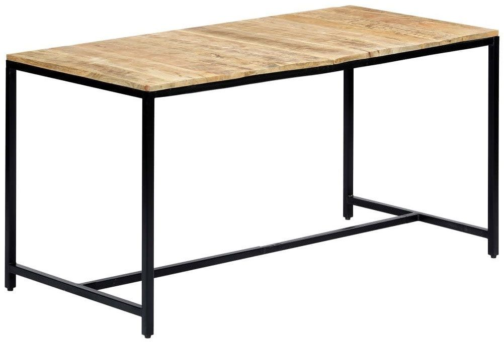 Stół industrialny z drewna mango Avis 2X  jasnobrązowy
