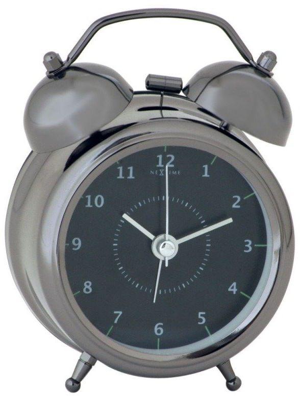 Budzik wake up black, 20 cm - 20 cm