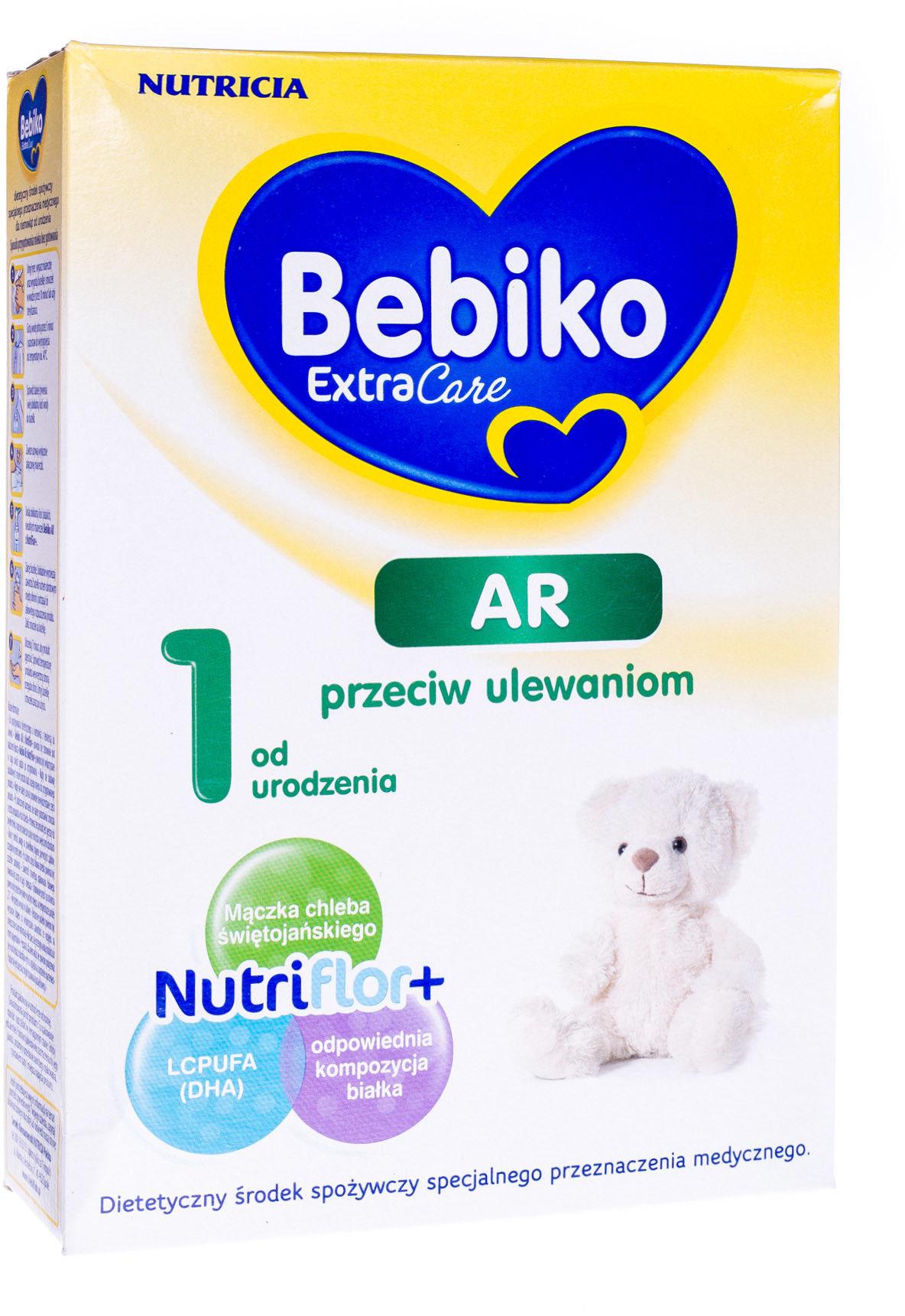 Bebiko Extra Care AR 1 specjalistyczne mleko modyfikowane przeciw ulewaniom od urodzenia 350 g