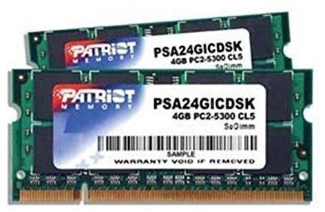 PATRIOT 4GB 2x2GB Kit DDR2 667MHz