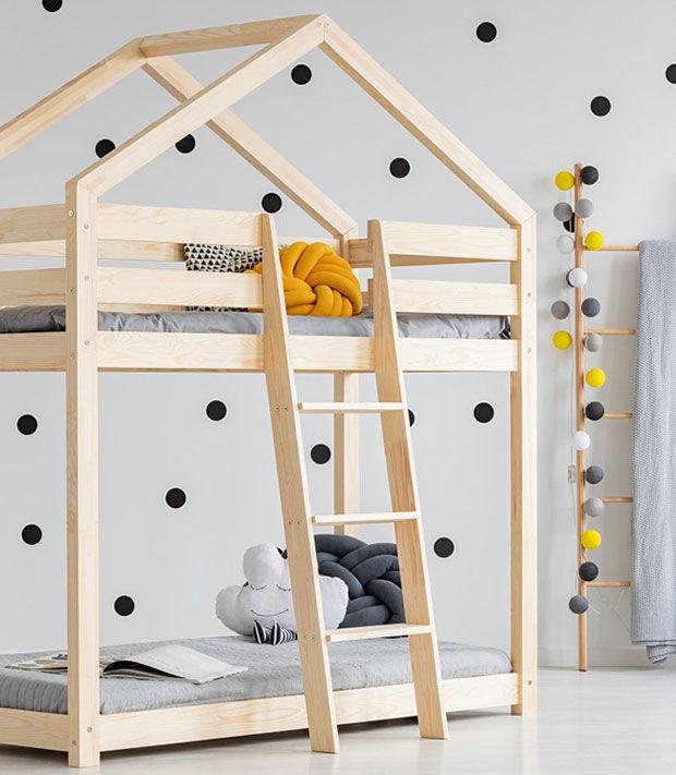 Piętrowe łóżko domek Miles 6X - 11 rozmiarów