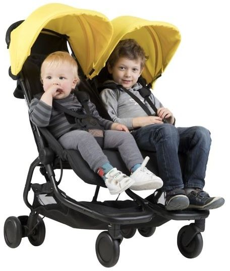MOUNTAIN BUGGY Nano Duo - wersja spacerowa